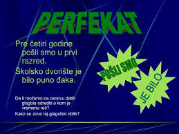 Perfekat (past tense)