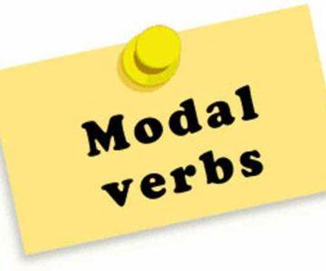 Modalni glagoli (modal verbs)