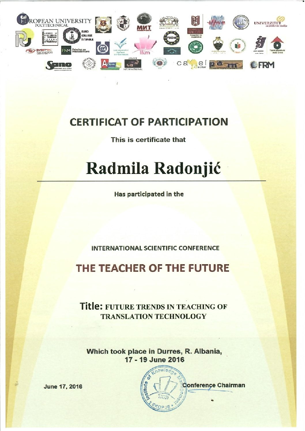 The Teacher of the Future 2