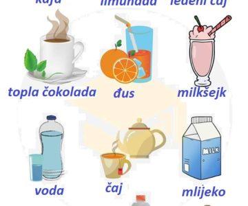 Pića (drinks)
