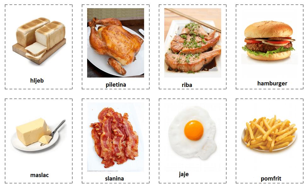 Hrana (food)