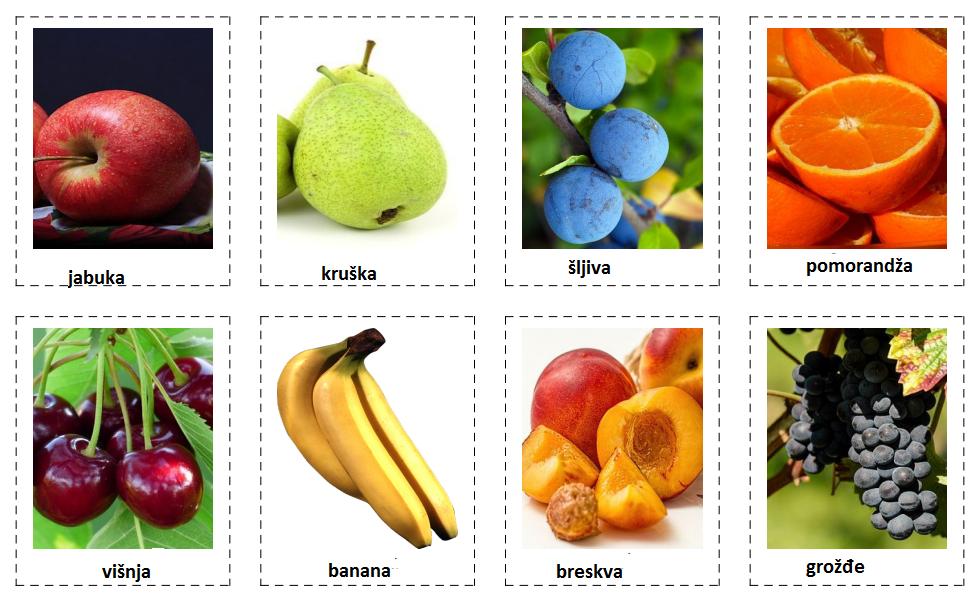 Šumsko voće (Fruit berries)