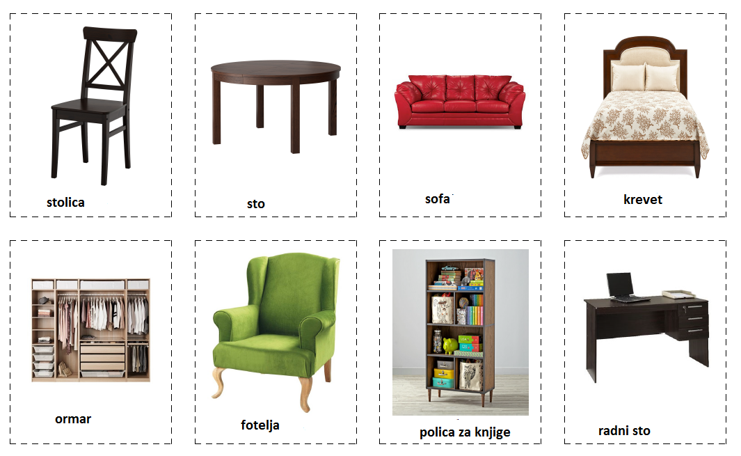 Namještaj (furniture)